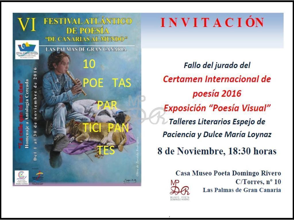Eventos Museo Poeta Domingo Rivero